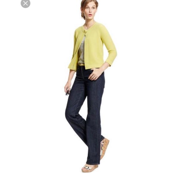d05c2e7c593 Boden Denim - Boden dark wash wide leg jeans size 6P